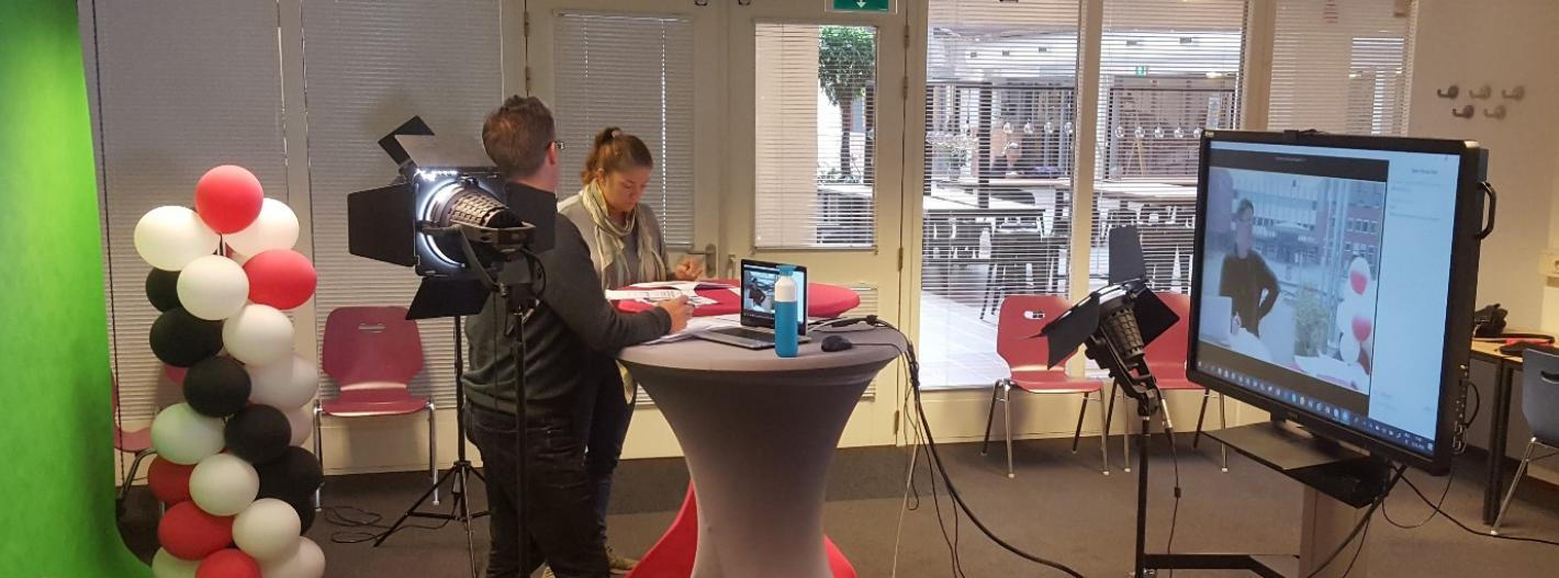 a live Q&A video session